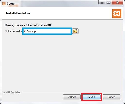 Install XAMPP-3